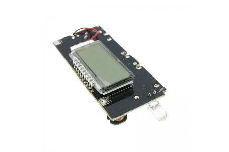 PowerBank module, 2xUSB 5V, 2A, LCD