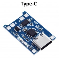 4.2V Li-Ion Charge Module with Protection, Type-C