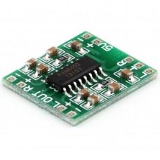 Amplifier D-class, PAM8403, 2x3W