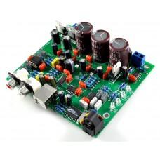 CS4398 DAC, USB/Coaxial