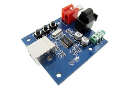 DAC PCM2704, USB