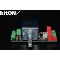 Регулятор громкости ALPS rk27 , 100К, с отключаемой тонкомпенсацией