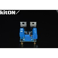 Adjustable bipolar voltage converter