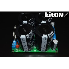 Amplifier power supply up to +/- 63V