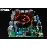 Power supply amplifier from the car network 12V