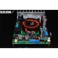 Power supply amplifier from the car network 12 V