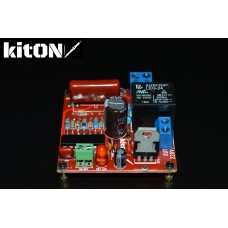 220V circuit breaker with low-power button without latching