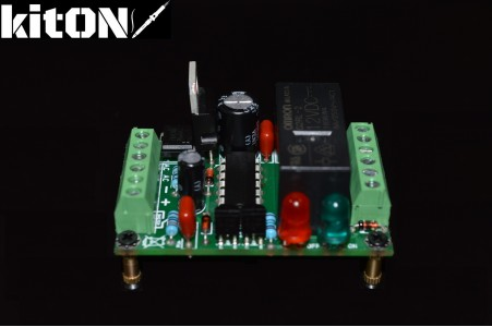 Powerful 12V switch with a push button