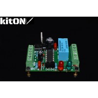 Low power 12V switch with a push button