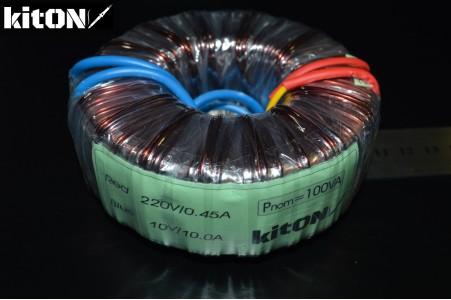 Toroidal transformer 100W