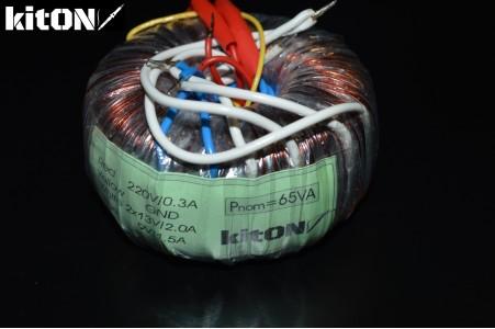 Toroidal transformer 65W