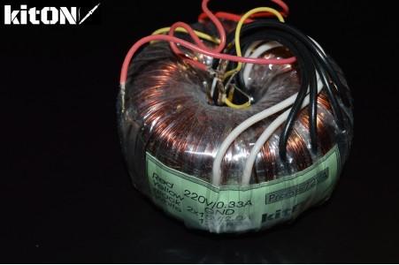 Toroidal transformer 72W